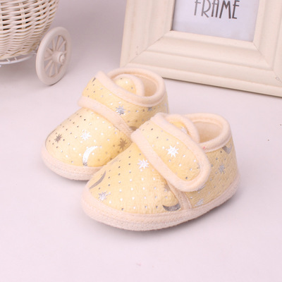 Spring And Autumn Baby Single Shoe Softsole Male And Female Baby Walking Shoes 816