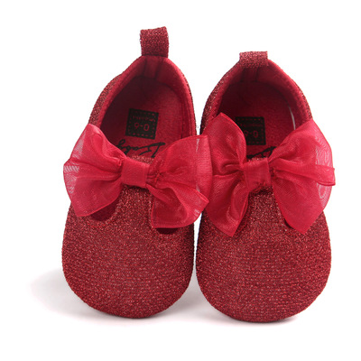 Multicolored Princess Shoes Baby Shoes Soft-soled Anti-skid Walking Shoes Princess Shoes 0009